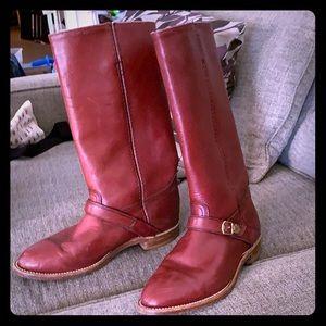 Beautiful Ox blood burgundy Frye boots 7.5/6.5